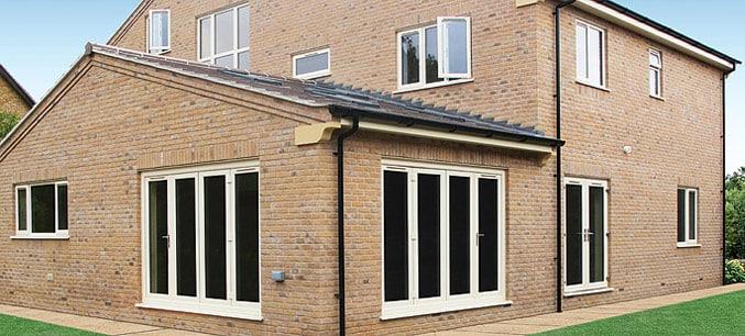 Cream Double Glazing, Windows And Multifold Doors