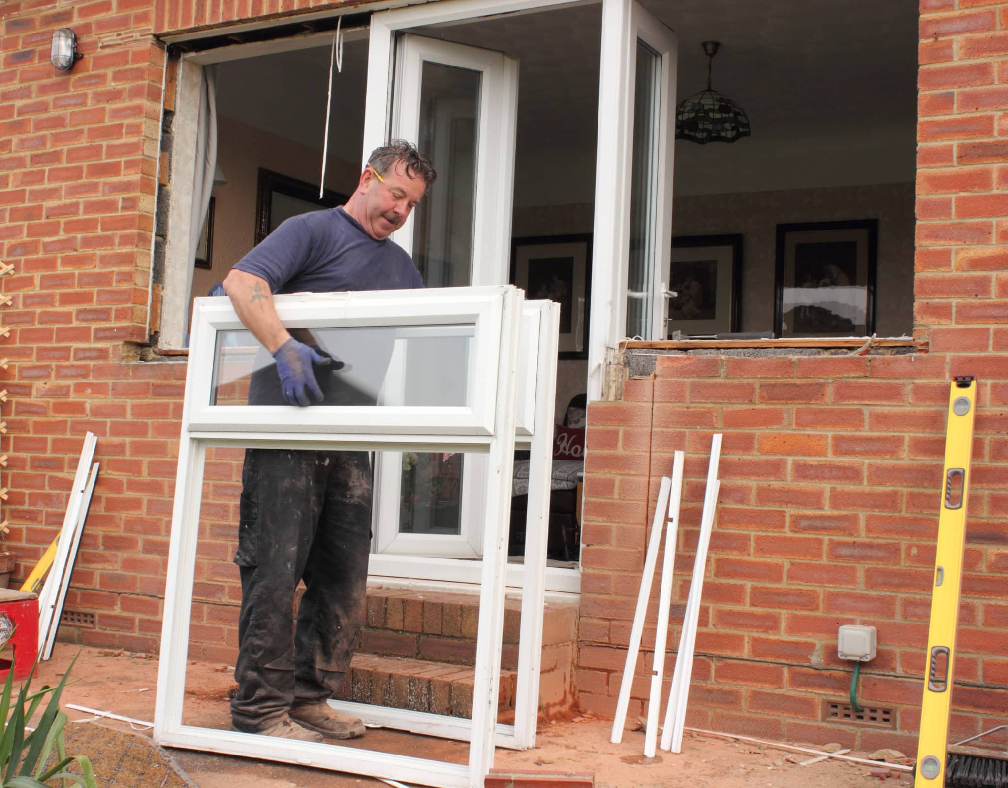 Double Glazing being installed in Norfolk
